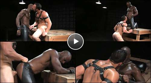 muscle black gay porn video